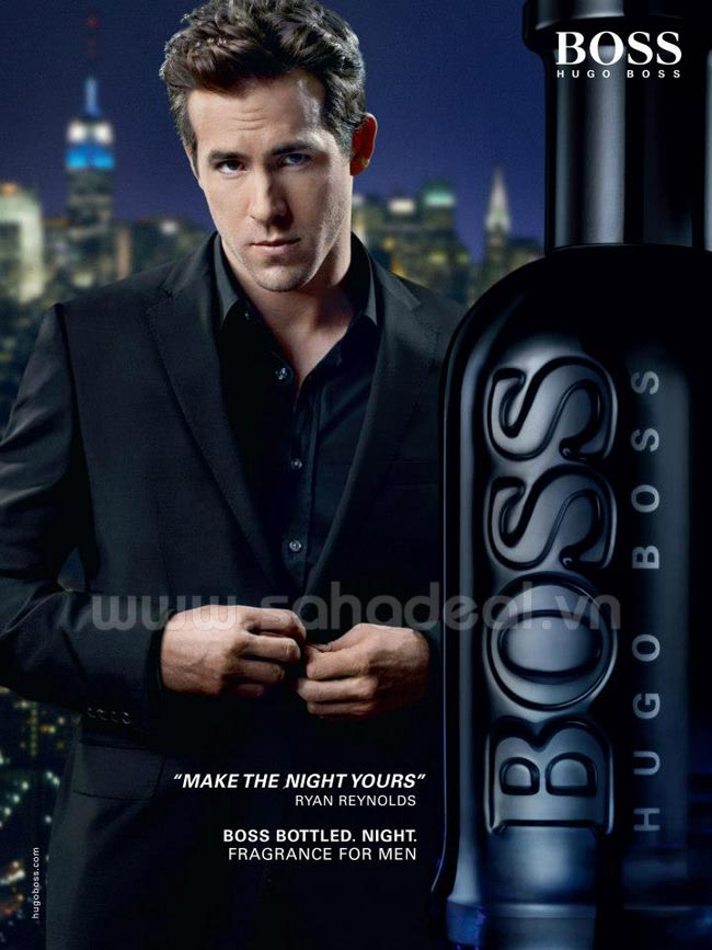 Sahadeal - Nước Hoa Nam Hugo Boss Bottled Night 100ml