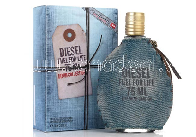 Sahadeal-Nước Hoa Nam Diesel Fuel For Life 75ml