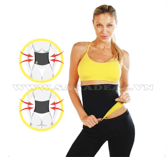 Sahadeal - Nịt Bụng Giảm Mỡ Hot Shapers Hot Belt As Seen on TV