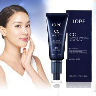 Kem Nền IOPE CC Complete Care Cream SPF35 PA++ 35ml